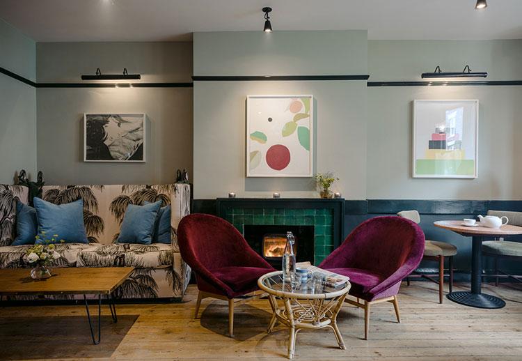 Разноцветное настроение: мини-отель The Rose в Англии