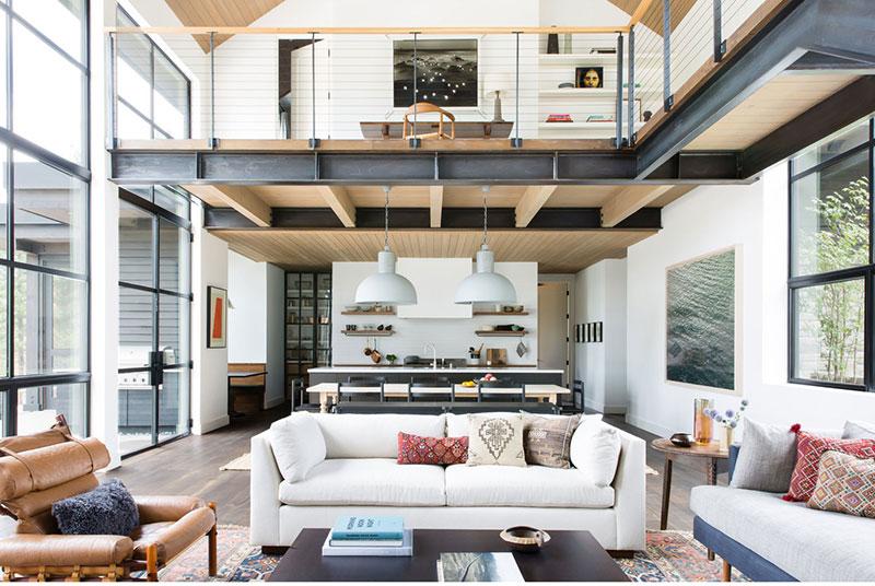 Великолепный современный дом у озера Тахо