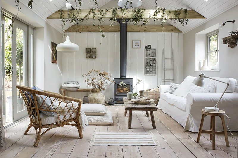 Cozy Summer House Created By Ikea Photos Ideas Design