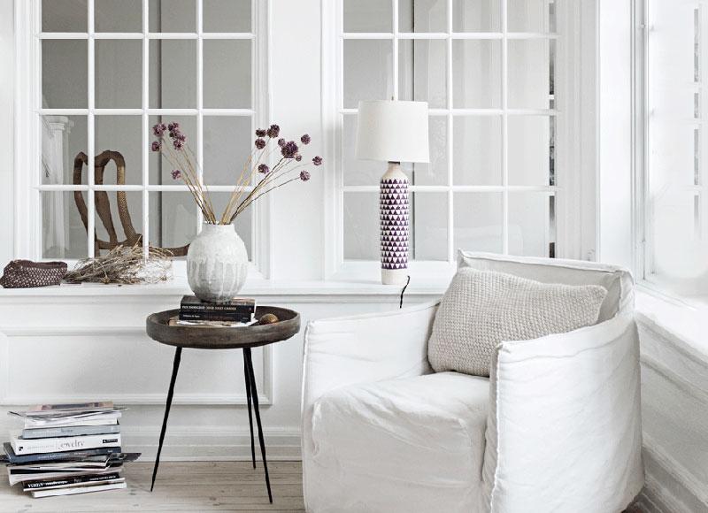 Лёгкий и воздушный интерьер квартиры в Копенгагене