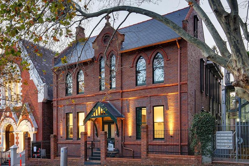 Бутик-отель Little Albion в здании бывшего монастыря в Сиднее