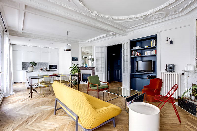 This Mix Of Different Styles And Eras Helped To Create Really Interesting Interiors With A Twist Which Can Be Called Eclectic Another Wonderful Apartment