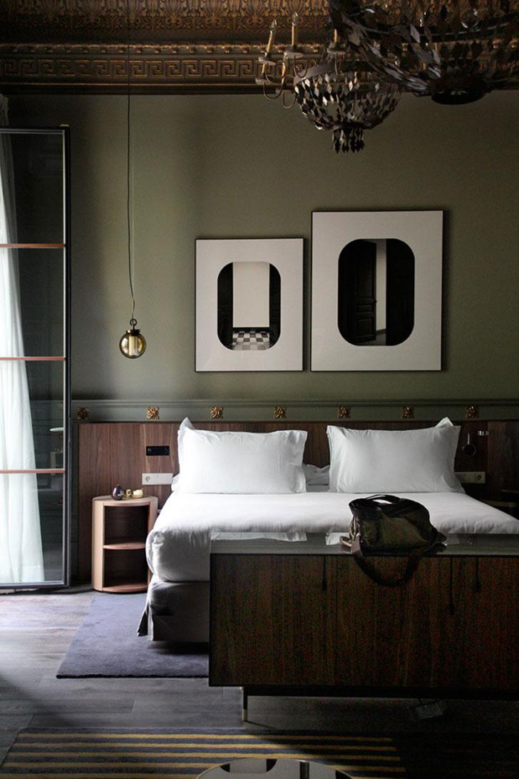 мебель для спальни в стиле модерн - фото