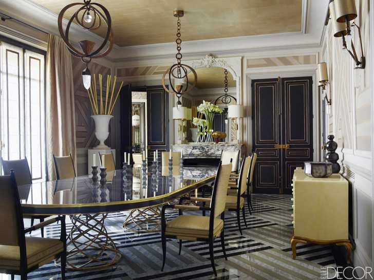 Современный модерн в интерьере дома и квартиры - фото