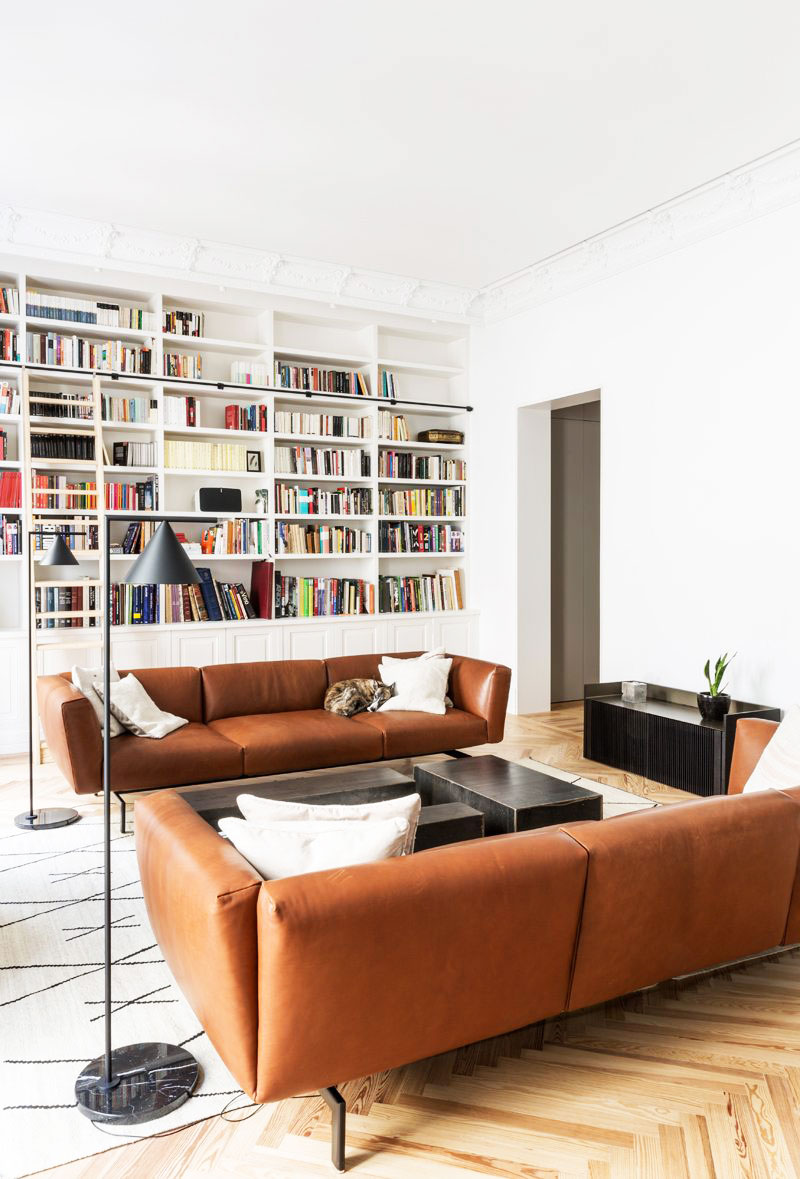 More stylish madrid apartment of musician