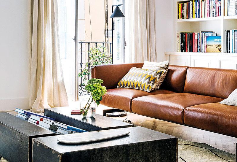 Воздушный интерьер квартиры дизайнера в Мадриде