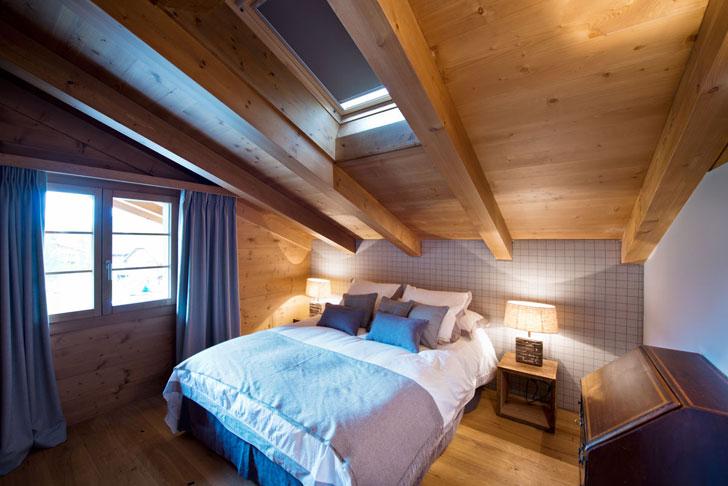 спальня шале - фото