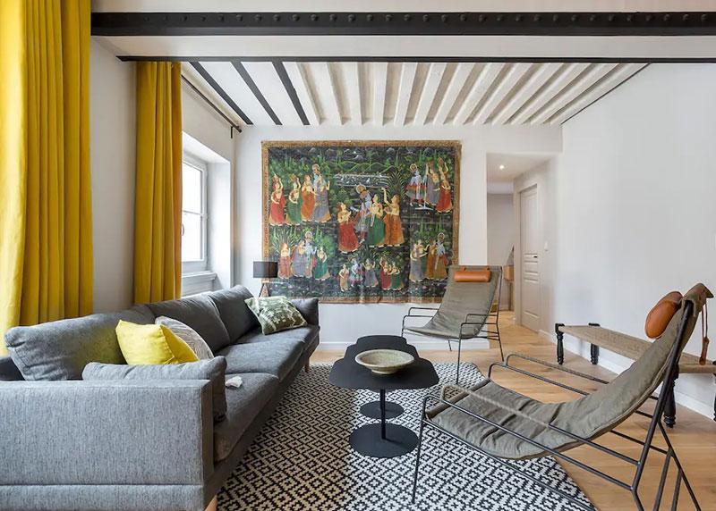 Яркая и функциональная квартира для сдачи в аренду в Лионе (55 кв. м)