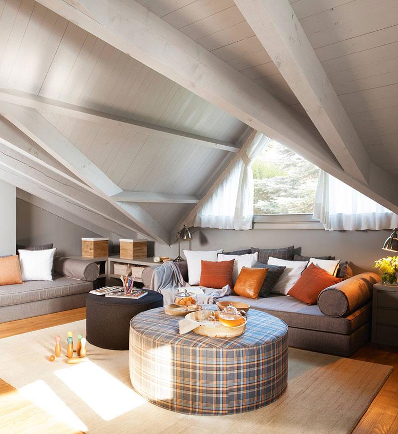 Cozy Attic Inspirational Interiors Under The Roof Photos Ideas Design