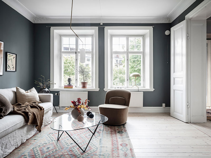 Awesome Colors For Small Apartment 46 Sqm Photos