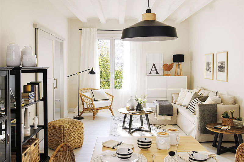 Small But Functional Scandinavian Style Apartment In Spain 50 Sqm