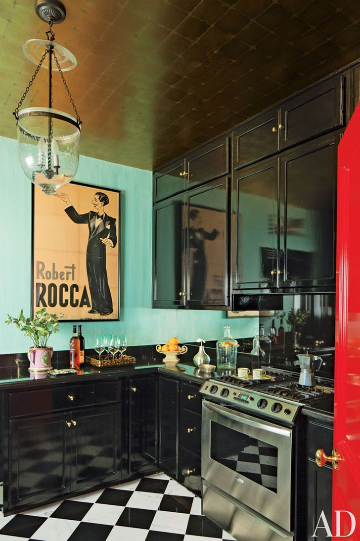 дизайн кухни ар-деко - фото