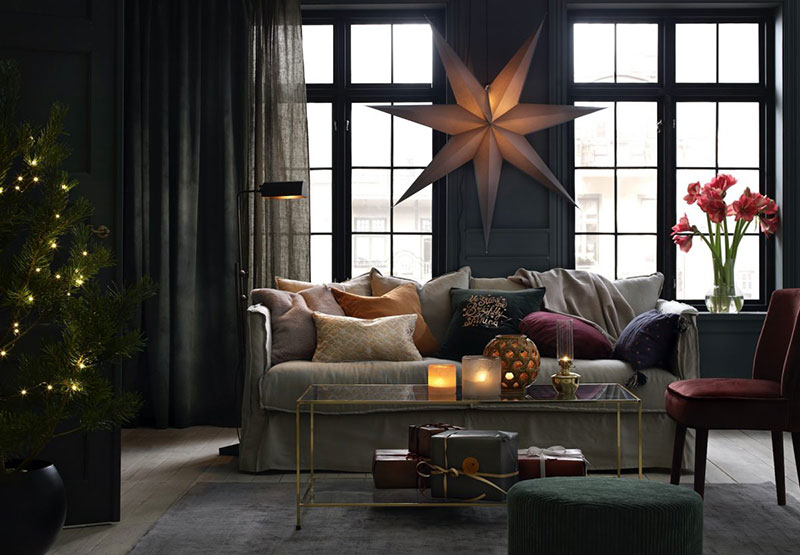 Scandinavian holidays: Christmas catalog by Ellos Home