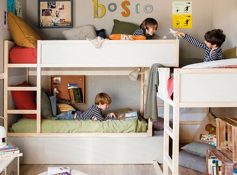 Детская для двоих или троих: несколько прекрасных идей
