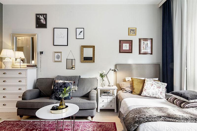 Поместить все на 29 кв. м: крохотная квартира в Швеции