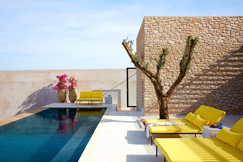 Райская вилла в пустыне Марокко