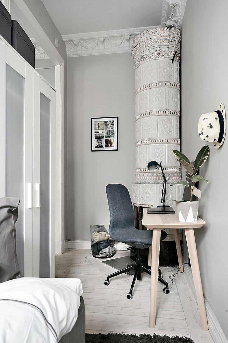 More cozy apartment in cool tones