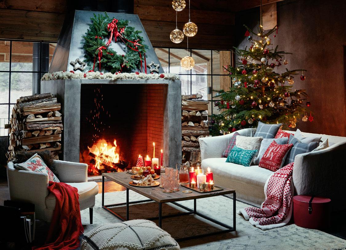 Чудесный праздничный коттедж в лесу от Zara Home