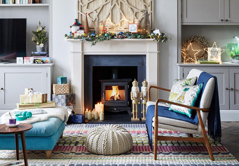 Рождество в викторианском доме в Лондоне