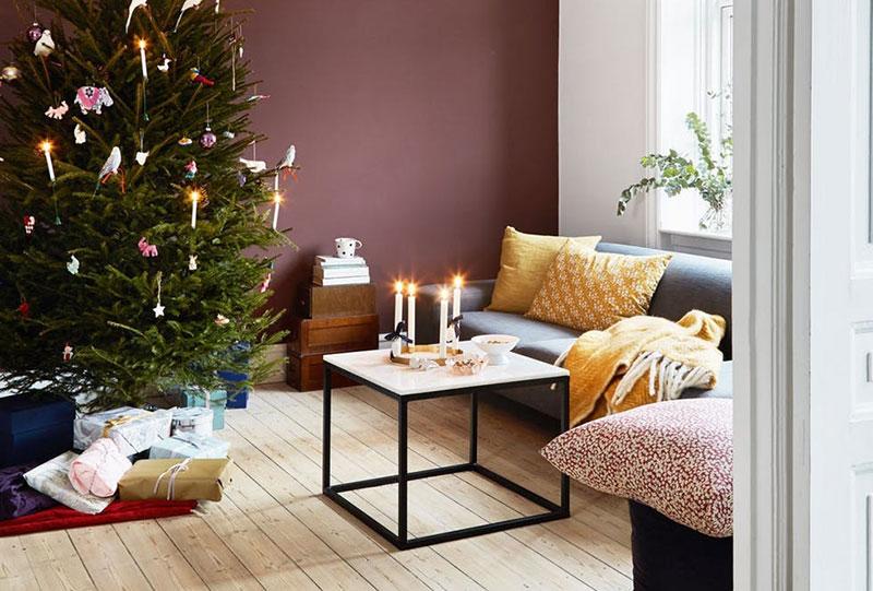 Цвет и оригинальные идеи: Рождество в яркой квартире в Копенгагене