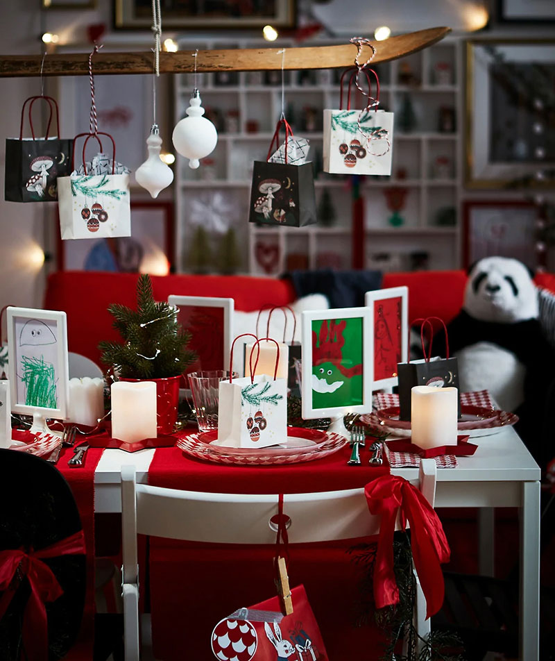 Three Cozy Holiday Living Rooms Decorated By Ikea Photos