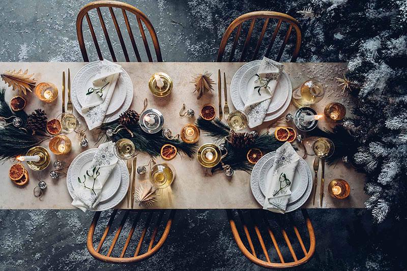 В предвкушении Нового года: волшебные идеи для праздничного стола от Zara Home