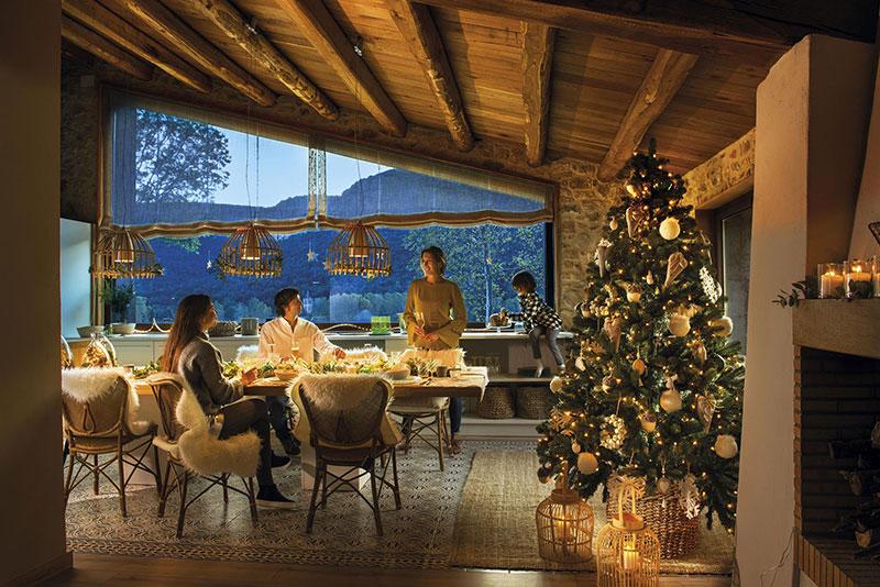 Идеальный дом для новогодней ночи в Испании