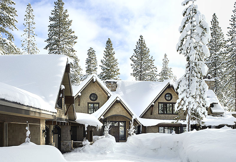 Великолепная зимняя резиденция на берегу озера Тахо