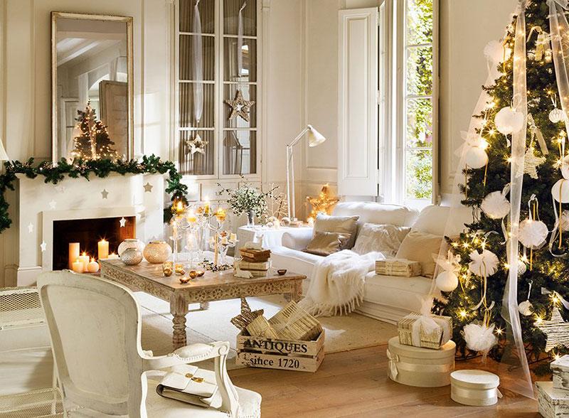 Волшебное Рождество в загородном доме