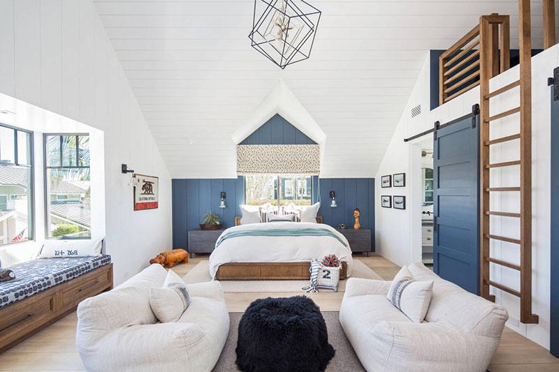 Пляжный дом в Калифорнии с бассейном, сауной и видом на причал