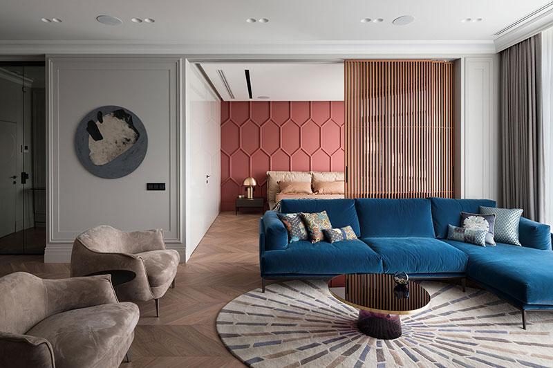 Современная квартира с элегантными классическими нотками в Киеве