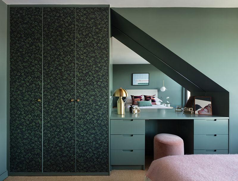 Современная квартира с оливковой спальней на севере Лондона