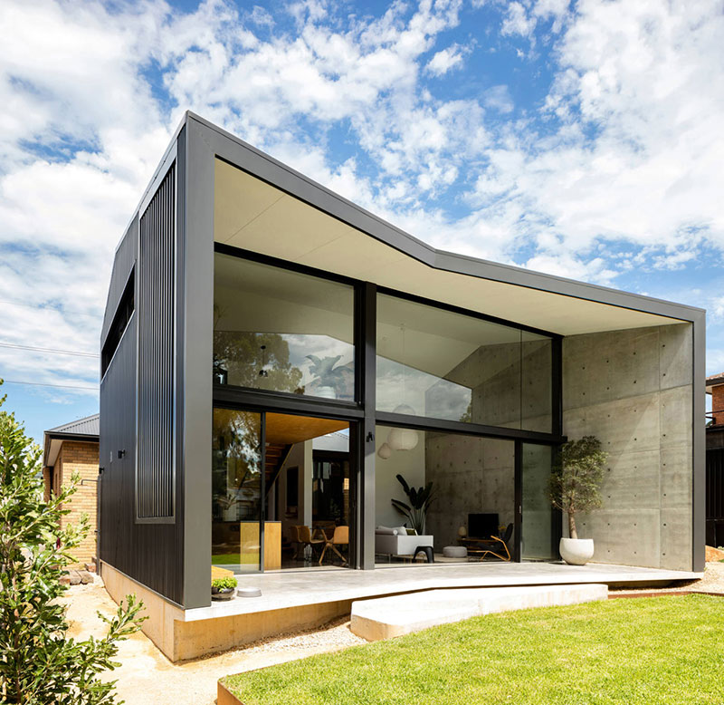 Modern And Very Compact: Young Family's Home In Australia