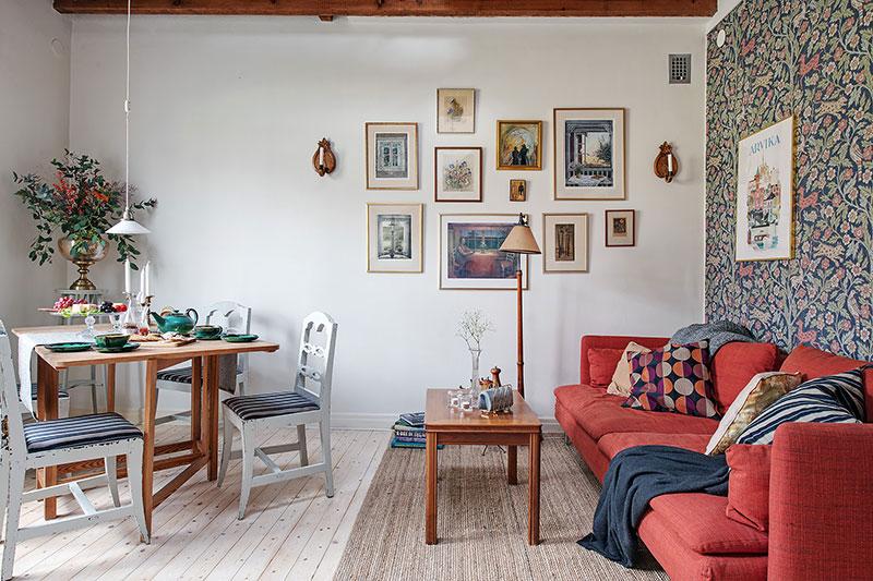 В городе как на даче: традиционная скандинавская квартира в Гетеборге