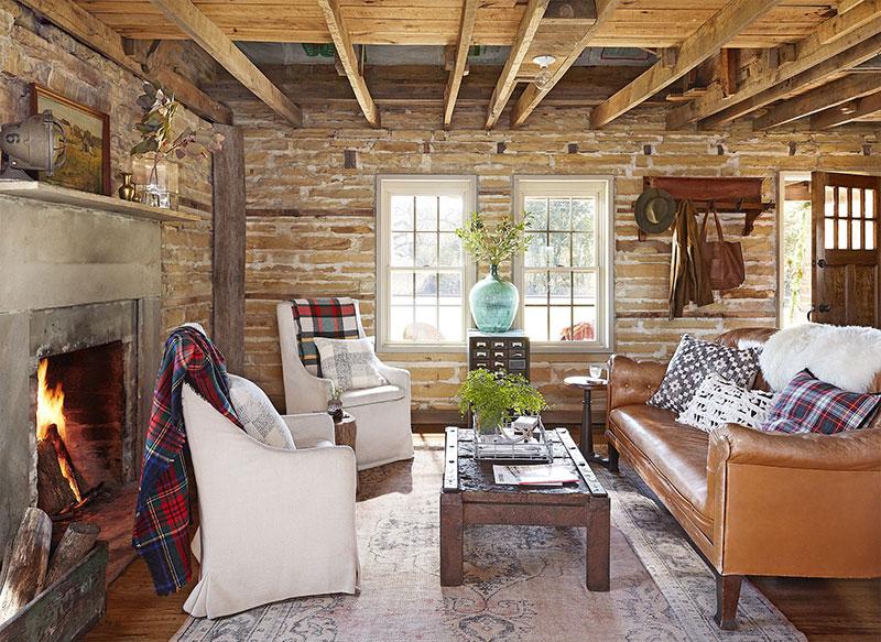 Старый фермерский дом, который стал любимым местом отдыха для большой семьи