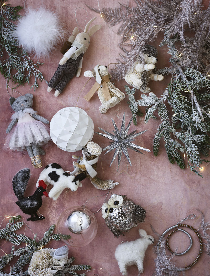 West Elm Christmas Ornaments.Modern Christmas In The City Winter Catalog By West Elm