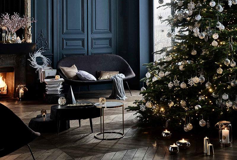 Вечерний шик в новой коллекции Midnight Blue от Zara Home
