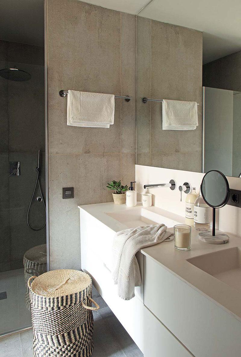 Приятная квартира с элементами индустриального стиля в Барселоне   barcelona apartment industrial style pufikhomes 14