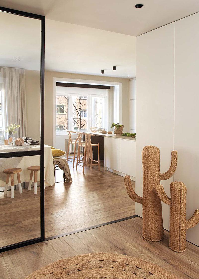 Приятная квартира с элементами индустриального стиля в Барселоне   barcelona apartment industrial style pufikhomes 4