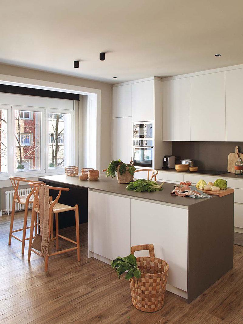 Приятная квартира с элементами индустриального стиля в Барселоне   barcelona apartment industrial style pufikhomes 8