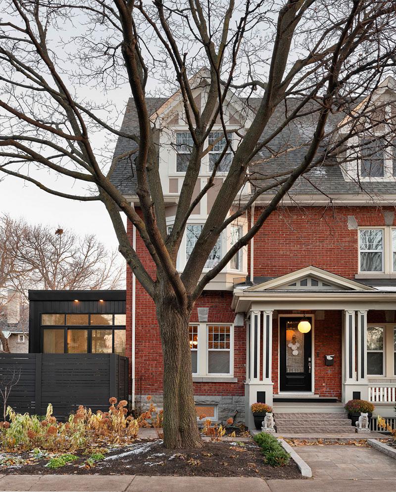 Уютный современный дом в Канаде