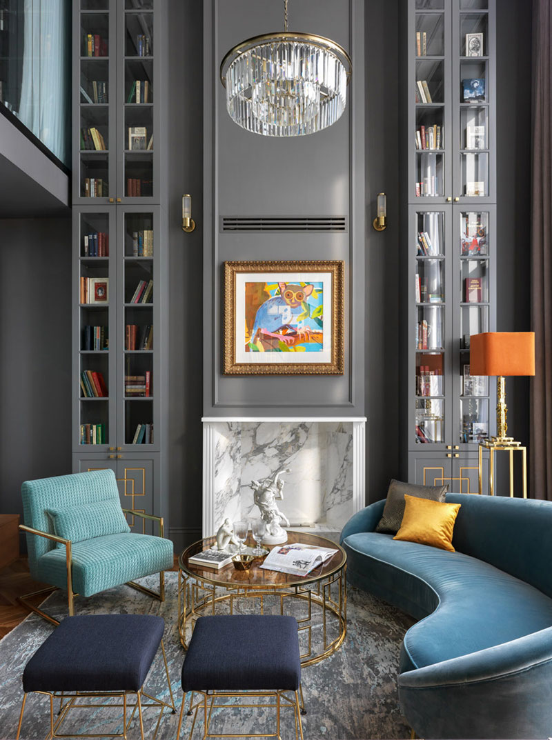 Apartment In A Spirit Of Great Gatsby In Moscow Photos Ideas Design