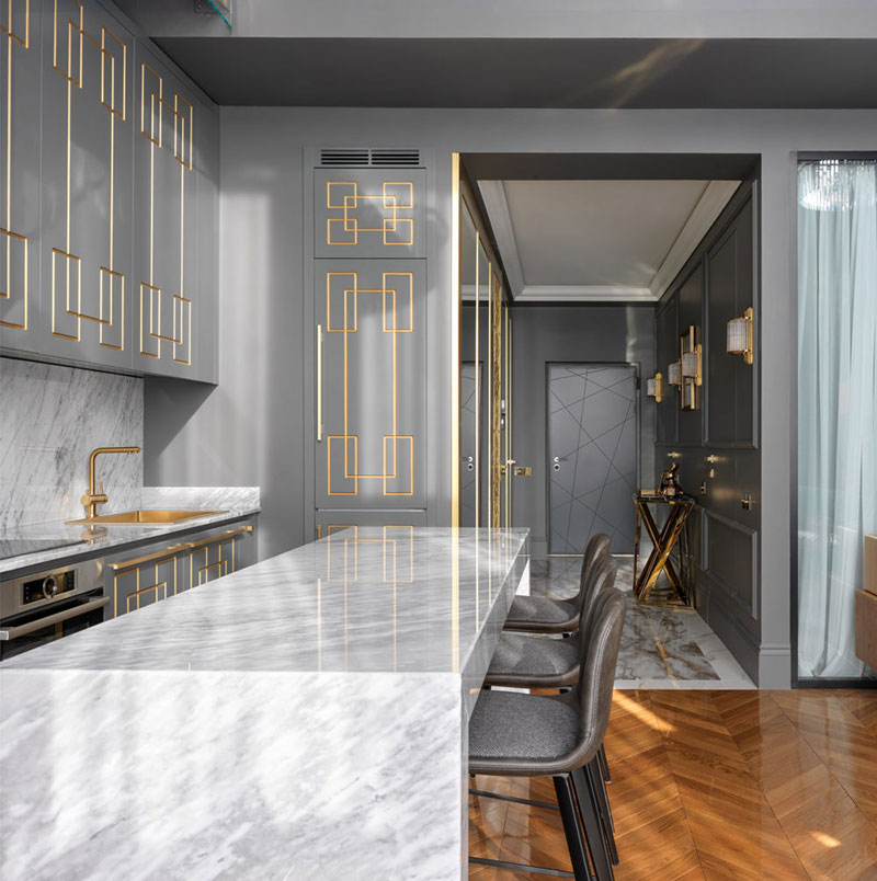 Apartment F: Apartment In A Spirit Of Great Gatsby In Moscow 〛 Photos