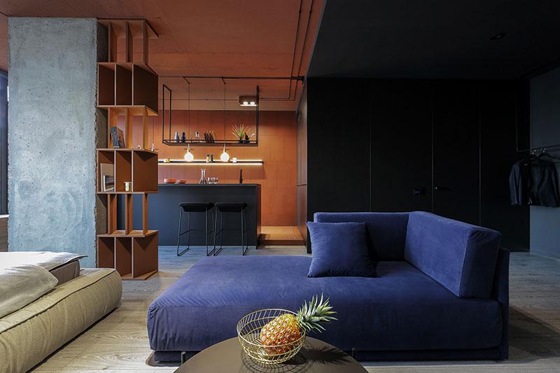 Стильная смарт-квартира для молодой семьи в Киеве (50 кв. м)