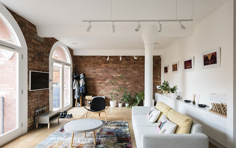 Loft in former jam factory in London