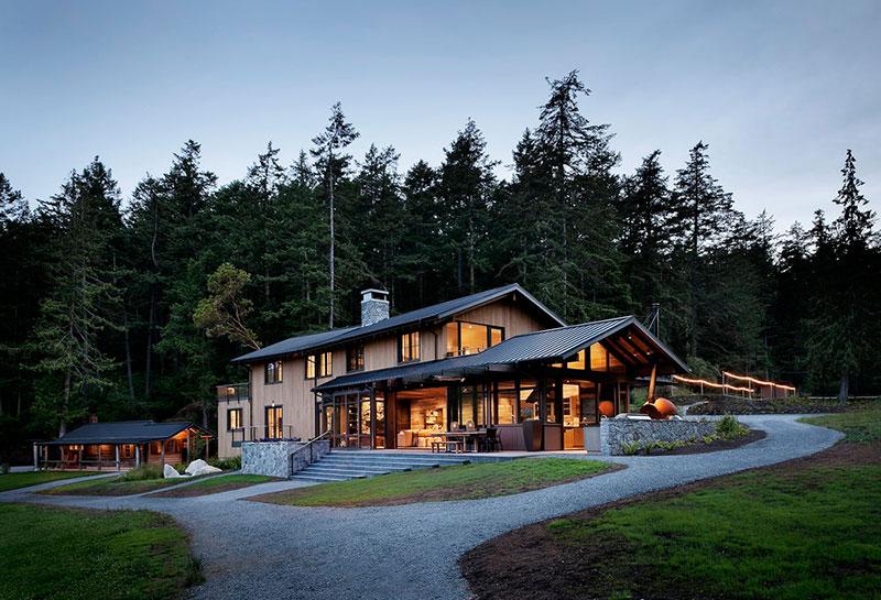 дом у озера в сша купить