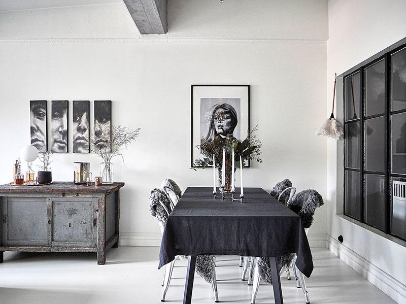 Дух Нью-Йорка и философия Скандинавии в интерьере шведской квартиры (67 кв. м)