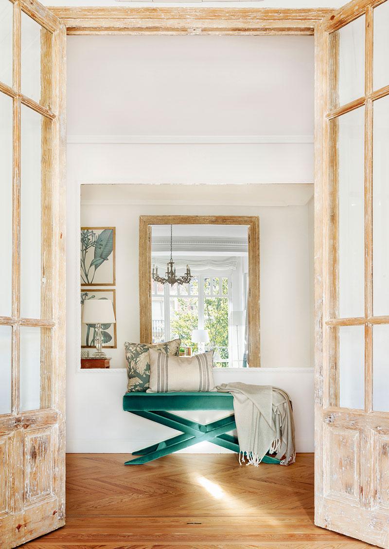 Весенняя свежесть вместо скучных тонов: преображение квартиры в Мадриде   spring touches in madrid apartment pufikhomes 10