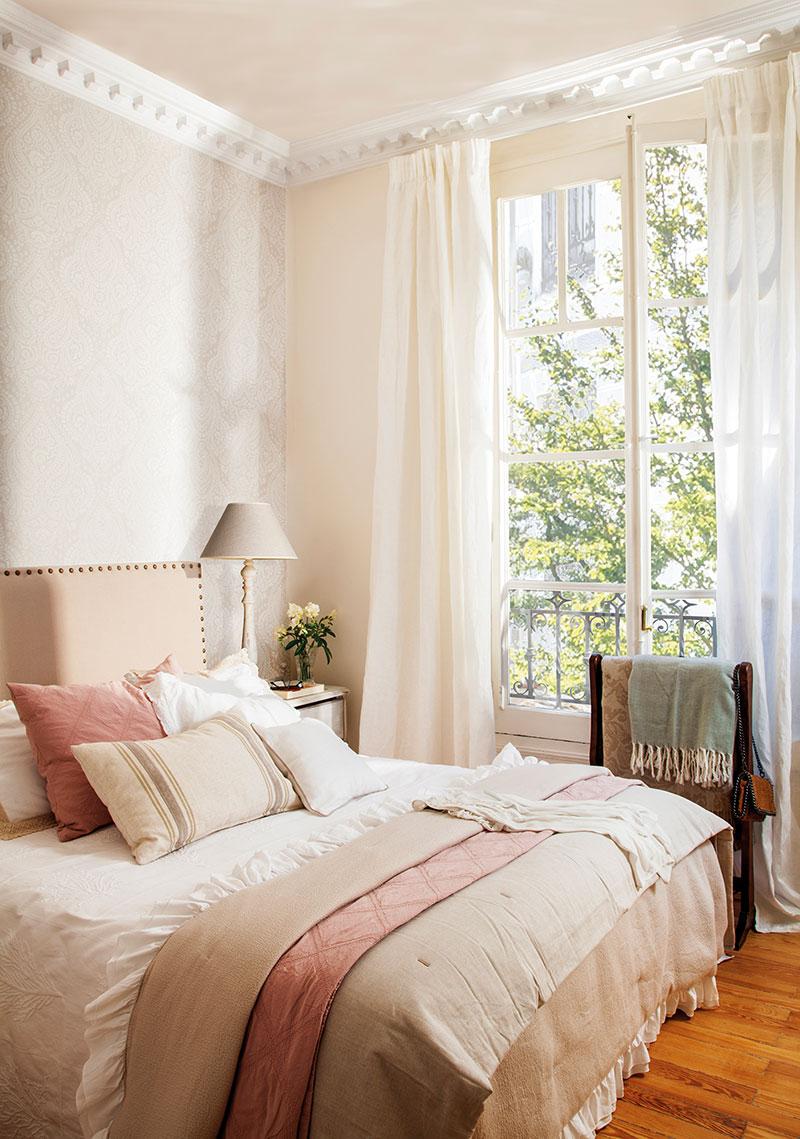 Весенняя свежесть вместо скучных тонов: преображение квартиры в Мадриде   spring touches in madrid apartment pufikhomes 6