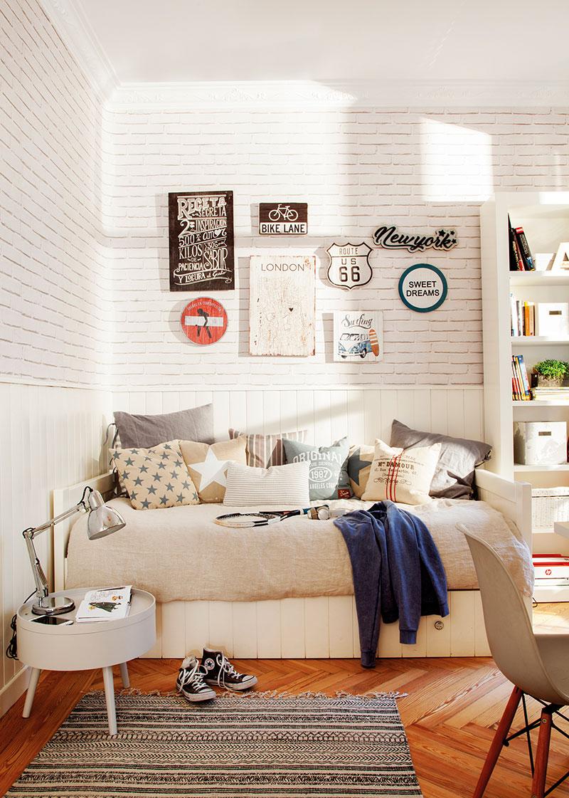 Весенняя свежесть вместо скучных тонов: преображение квартиры в Мадриде   spring touches in madrid apartment pufikhomes 7